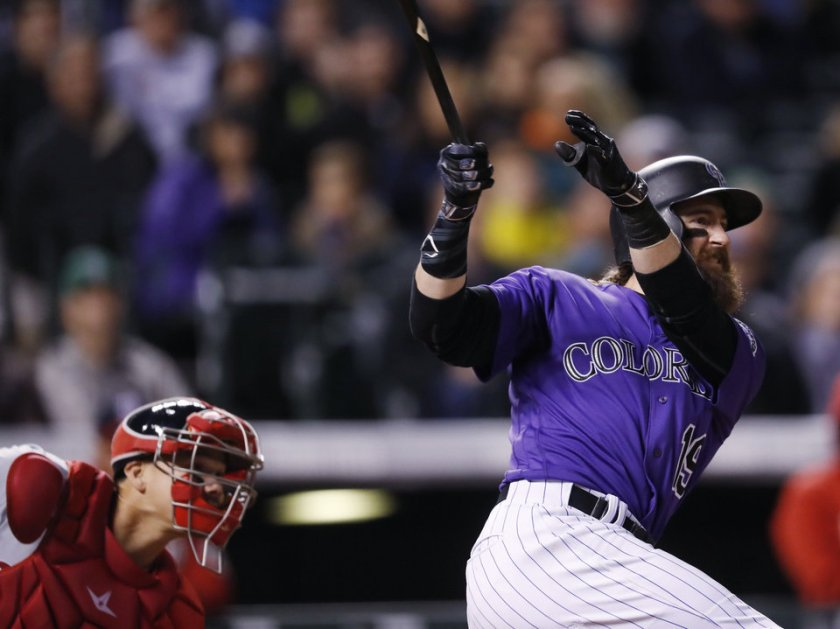 Jose Lobaton, Charlie Blackmon